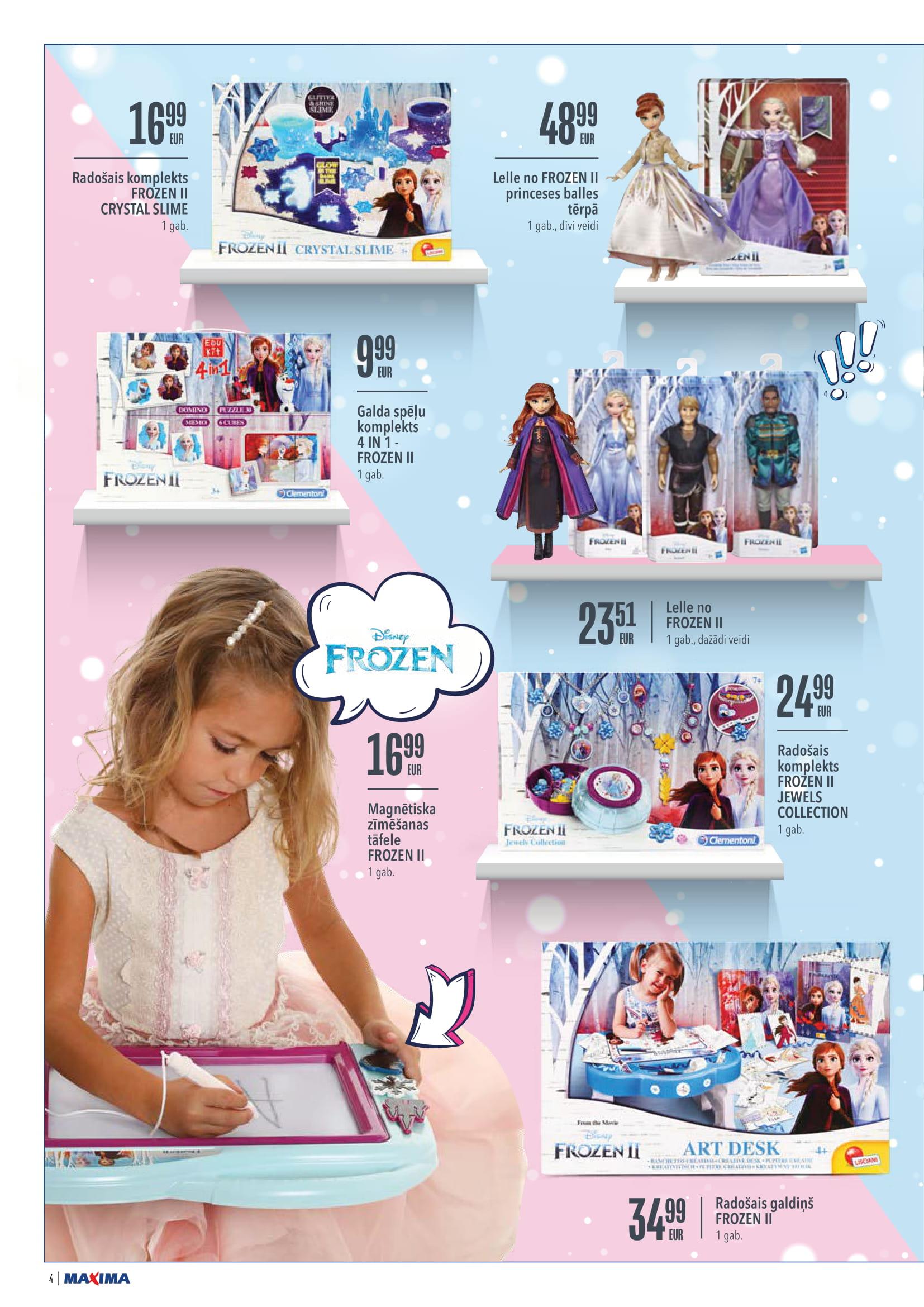 MAXIMA Rotaļlietu katalogs 05.11.2020 - 02.12.2020