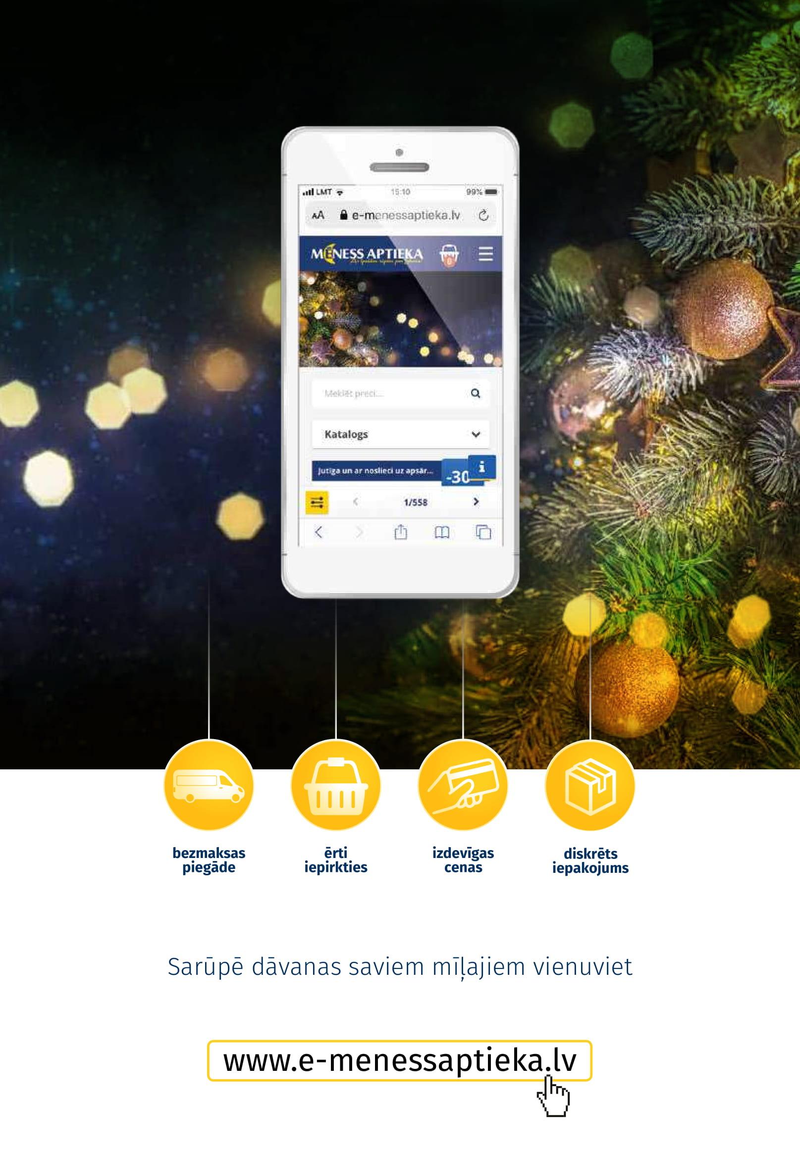 MĒNESS APTIEKA akcijas buklets 01.12.2019 - 31.12.2019