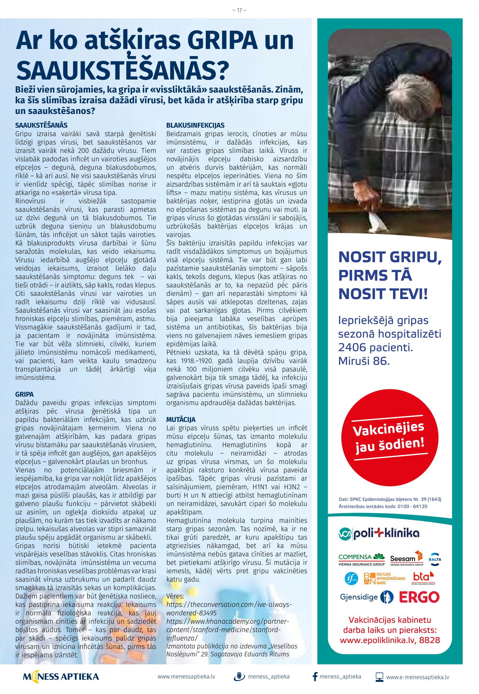 MĒNESS APTIEKA akcijas buklets 01.10.2019 - 31.10.2019