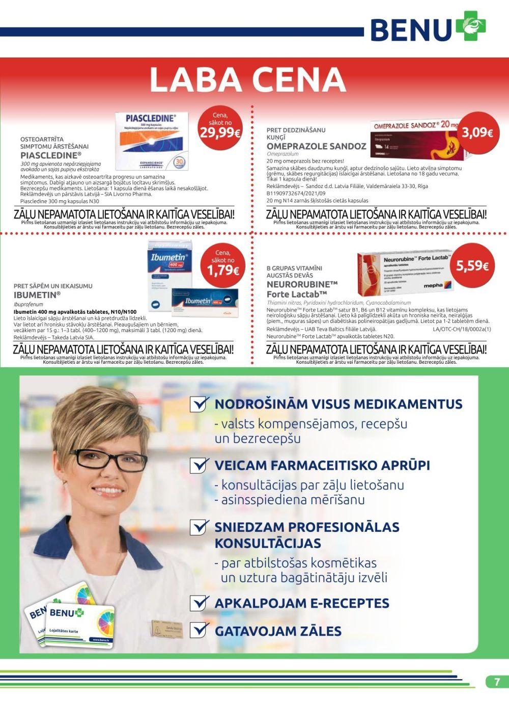 BENU akcijas buklets 01.11.2019 - 30.11.2019