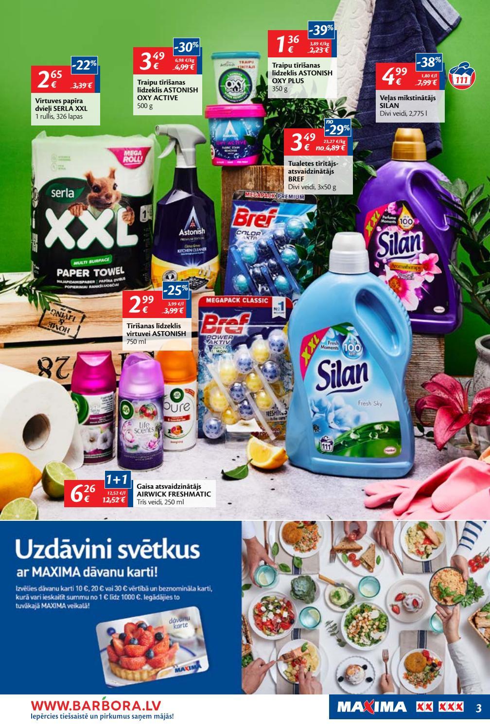 MAXIMA XX XXX akciju buklets 14.03.2019 - 27.03.2019