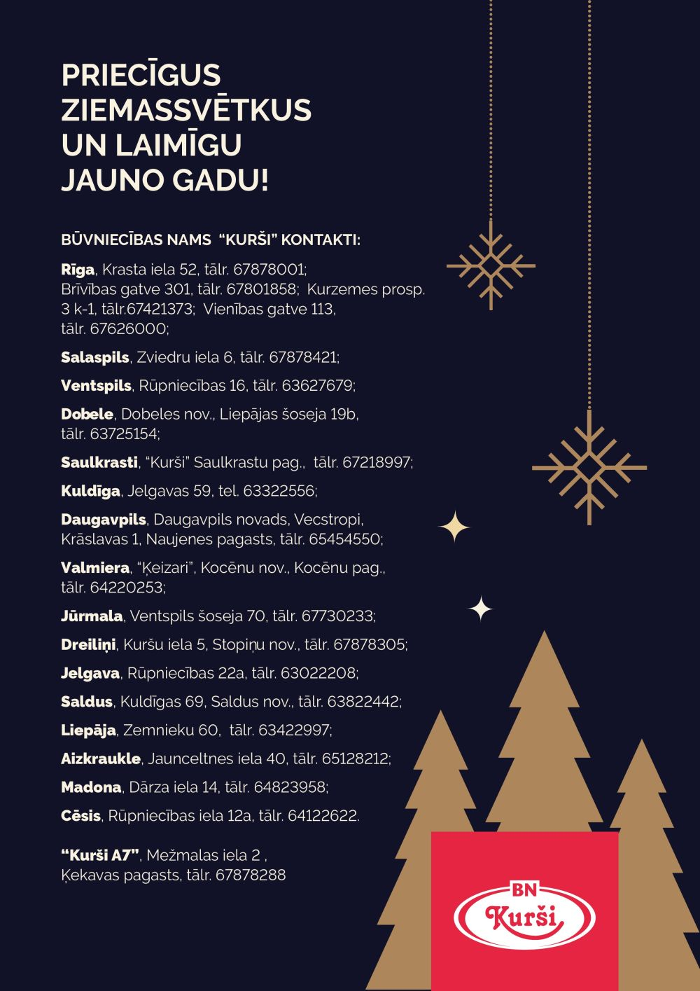 KURŠI akcijas buklets 01.12.2019 - 31.12.2019
