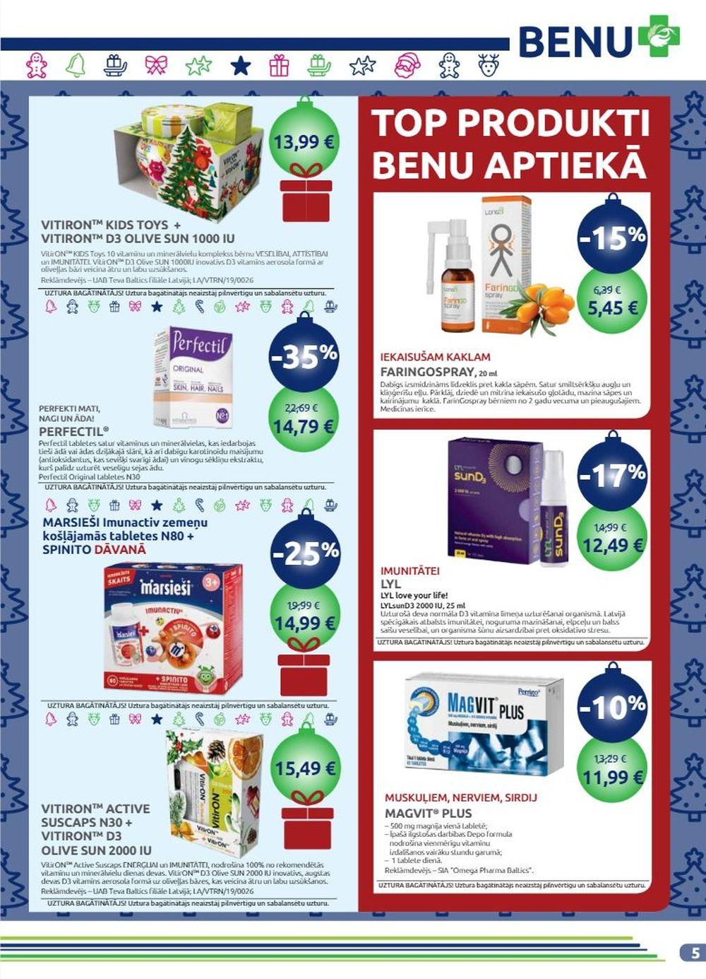 BENU akcijas buklets 01.12.2019 - 31.12.2019