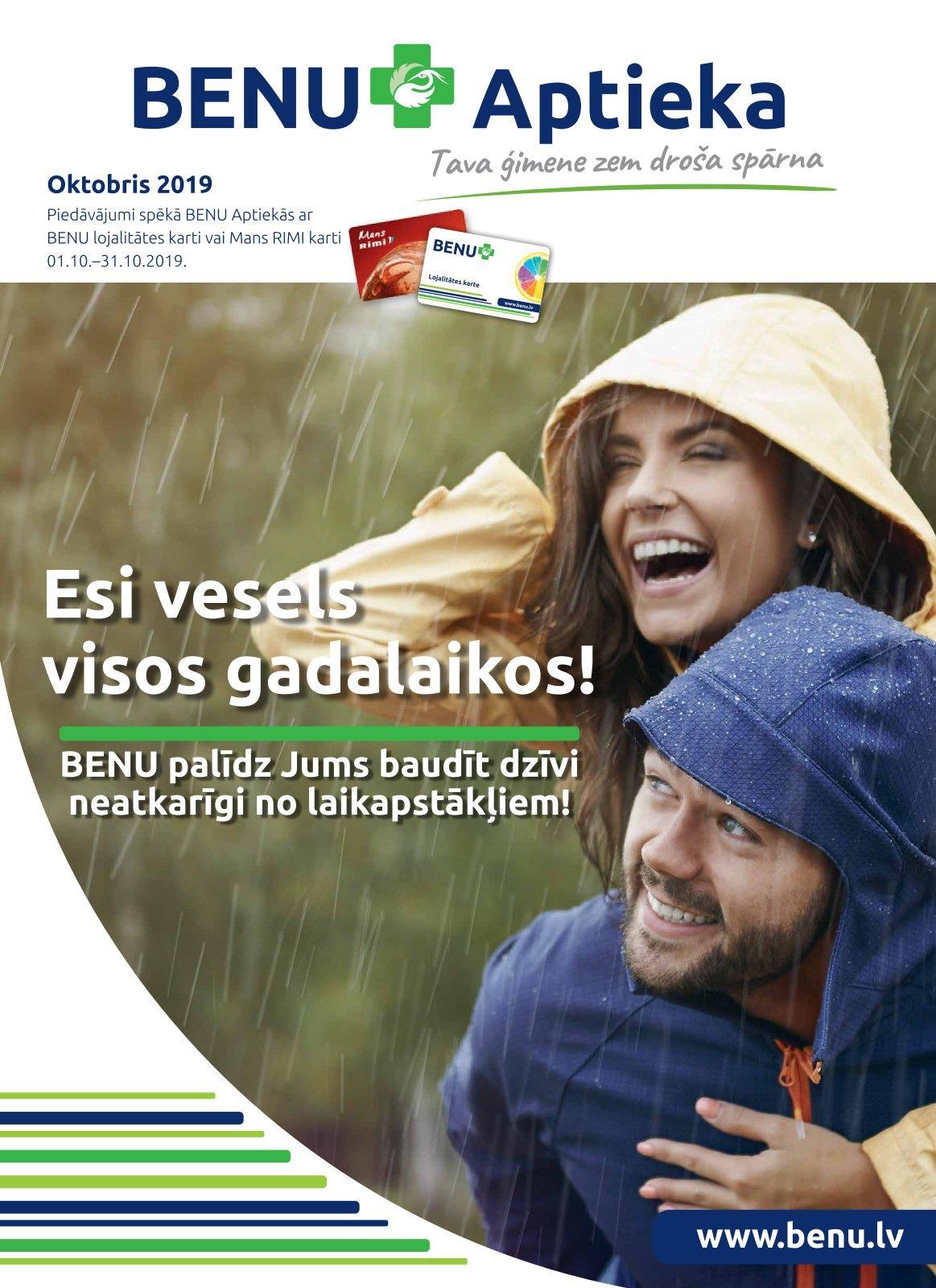 BENU akcijas buklets 01.10.2019 - 31.10.2019