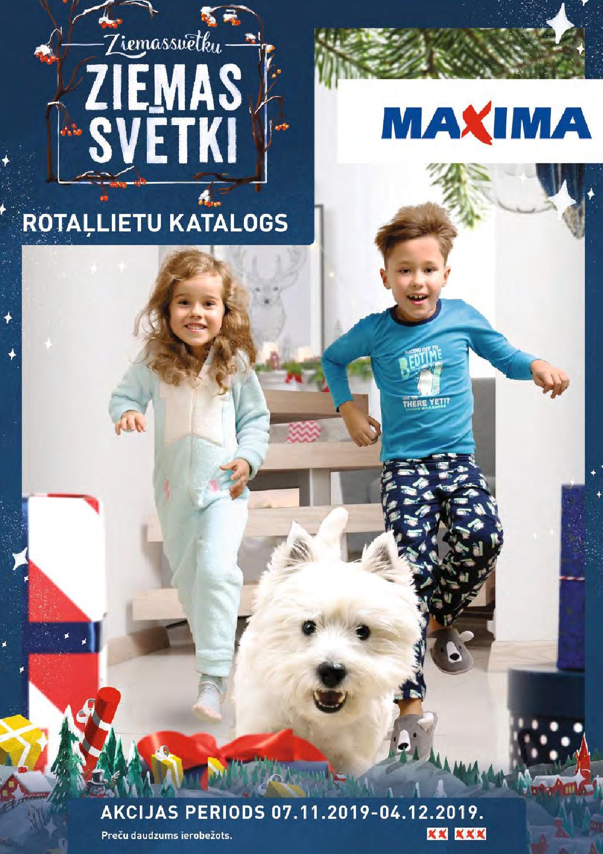 MAXIMA Rotaļlietu katalogs 07.11.2019 - 04.12.2019