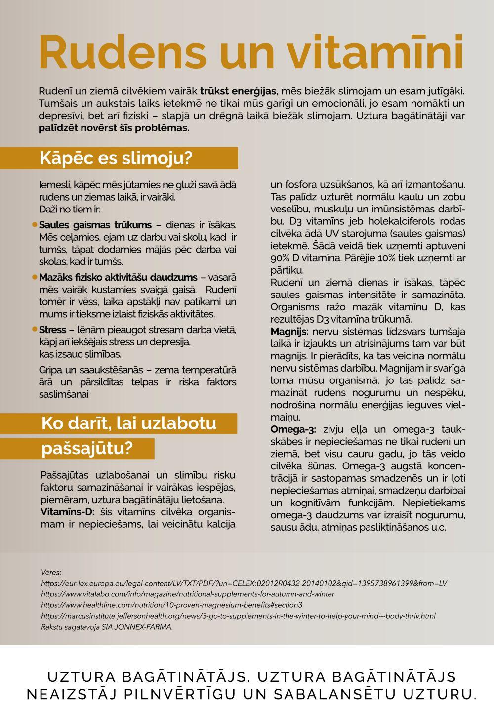 MĒNESS APTIEKA akcijas buklets 01.11.2019 - 30.11.2019