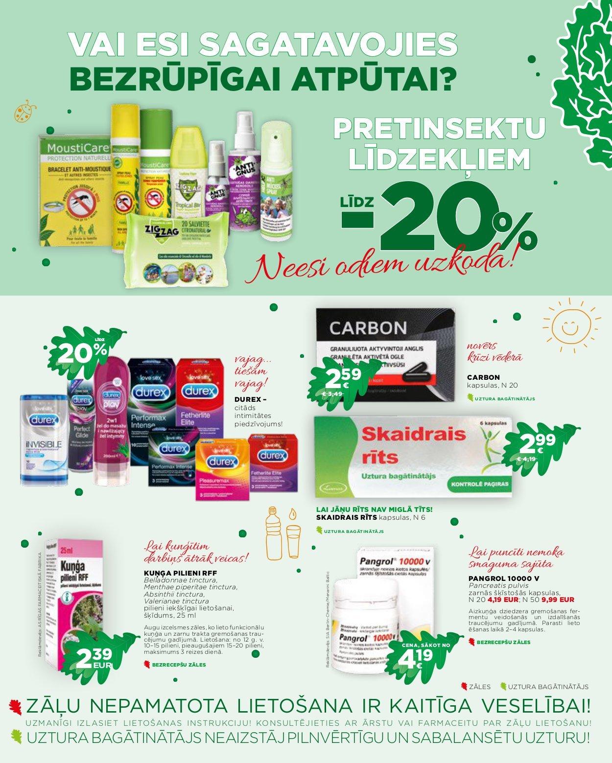 EUROAPTIEKA akcijas buklets 03.06.2019 - 30.06.2019